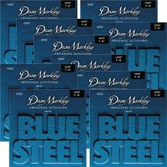 DEAN MARKLEY 2556 BLUE STEEL 10/46 CONFEZIONE 10 MUTE