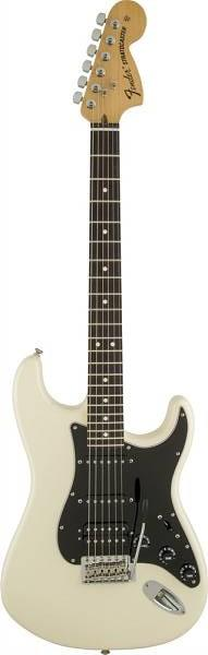 FENDER AMERICAN SPECIAL STRATOCASTER HSS RW OLYMPIC WHITE