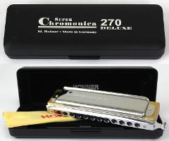 HOHNER SUPER CHROMONICA 48 DELUXE IN DO 270/48