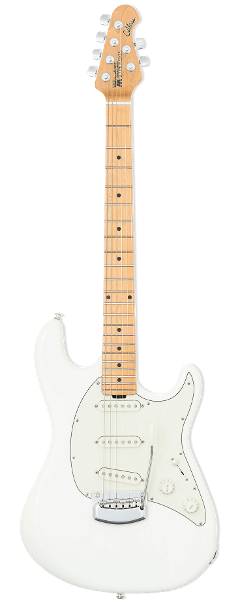 MUSIC MAN CUTLASS IVORY WHITE EX DEMO