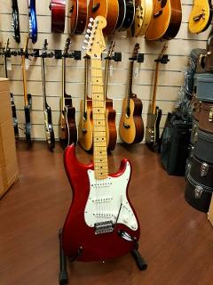 FENDER STRATOCASTER STANDARD MEXICO CANDY APPLE RED MN