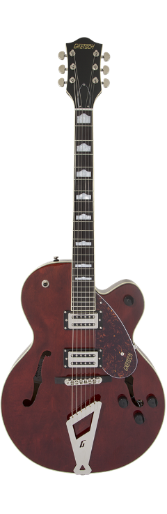 GRETSCH G2420 STRAMLINER LAUREL FINGERBOARD WALNUT