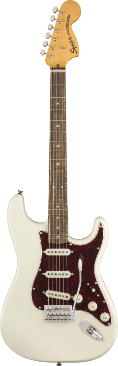 SQUIER CLASSIC VIBE '70S STRATOCASTER LRL OLYMPIC WHITE
