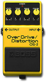 BOSS OS2 OVERDRIVE/DISTORTION PROMOZIONE