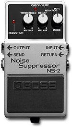 BOSS NS2  NOISE SUPPRESSOR PROMOZIONE