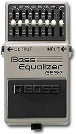 BOSS GEB7 BASS EQUALIZER PROMOZIONE