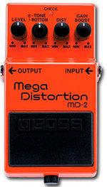 BOSS MD2 MEGA DISTORTION PROMOZIONE