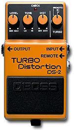 BOSS DS2 TURBO DISTORTION PROMOZIONE