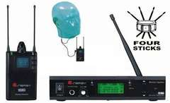 ENERGY KP1R/KP1T  EAR MONITOR UHF 48 FREQUENZE