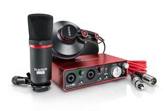 FOCUSRITE SCARLETT 2I2 STUDIO PACK 2ND GENERATION