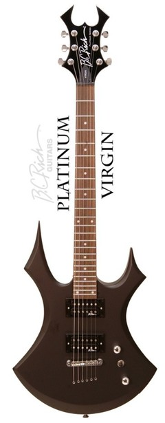 B.C. RICH VIRGIN BLACK