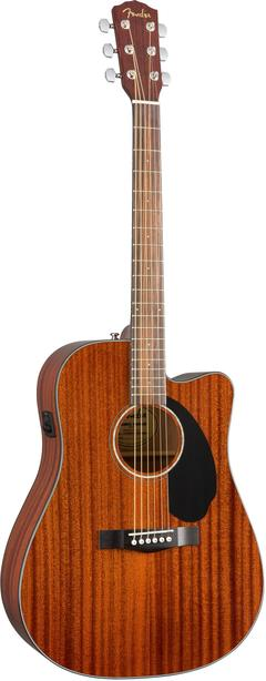 FENDER CD60CE ALL MAHOGANY