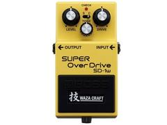 BOSS SD1W SUPER OVERDRIVE WAZA CRAFT PROMOZIONE
