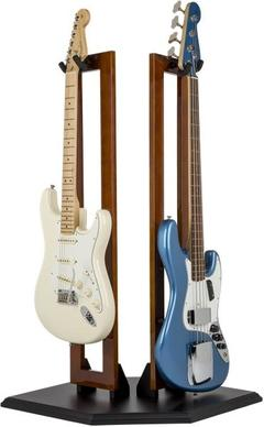 FENDER DOUBLE WOOD HANGING STAND