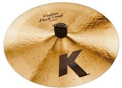 "ZILDJIAN K CUSTOM DARK 16"" CRASH"