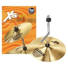 "SABIAN XS20 SPLASH 10"" SPECIAL PACK CON STACHER INCLUSO"