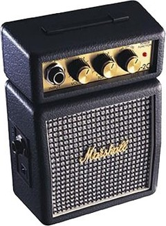 MARSHALL MS2C MS2 MINI AMPLI 1W Marshall MS2C MINI AMPLI 1W