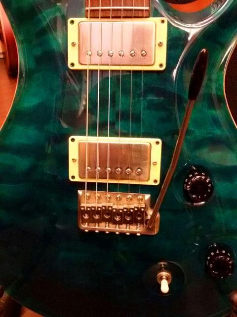 PRS PAUL REED SMITH CUSTOM 22 BLUE MATTEO ANNO 2007