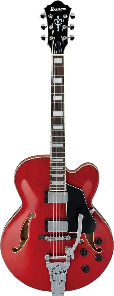 IBANEZ AFS75T TCD TRASPARENT CHERRY RED