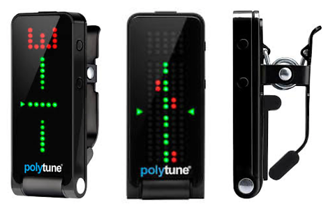 TC ELECTRONIC POLYTUNE CLIP BLACK