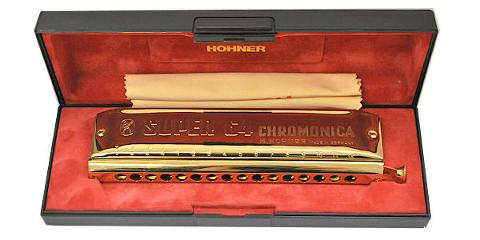 HOHNER SUPER CHROMONICA 48/270 GOLD