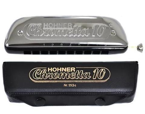 HOHNER CHROMETTA 10 IN DO