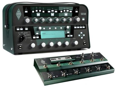 KEMPER PROFILING AMPLIFIER HEAD BLACK + REMOTE CONTROL