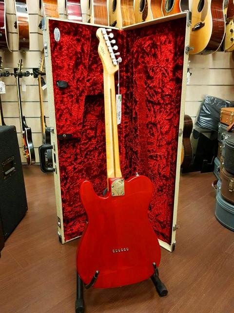 FENDER CUSTOM SHOP TELECASTER DELUXE RW CANDY RED 2012