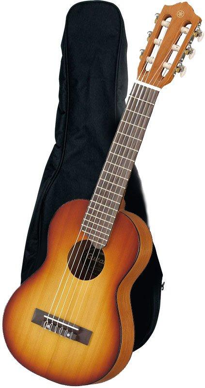 YAMAHA GL1 TBS TOBACCO BROWN SUNBURST GUITALELE CON BORSA