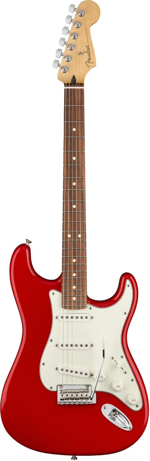 FENDER PLAYER STRATOCASTER PF 3C SONIC RED   - Caltagirone (Catania)