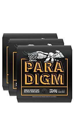 ERNIE BALL 2022 PARADIGM 09 46 SET DA TRE