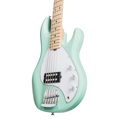 STERLING BY MUSIC MAN RAY5 MINT GREEN SPEDIZIONE INCLUSA