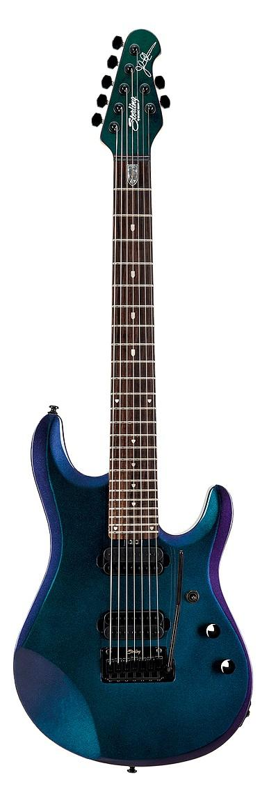 STERLING BY MUSIC MAN JP70 PETRUCCI 7 CORDE MYSTIC DREAM