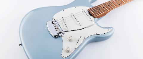 MUSIC MAN CUTLASS RS SSS FIREMIST SILVER
