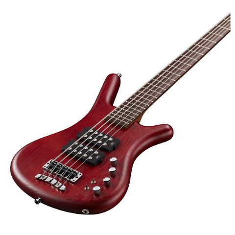 WARWICK GPS CORVETTE $$ 5 BURGUNDY RED MADE IN GERMANY