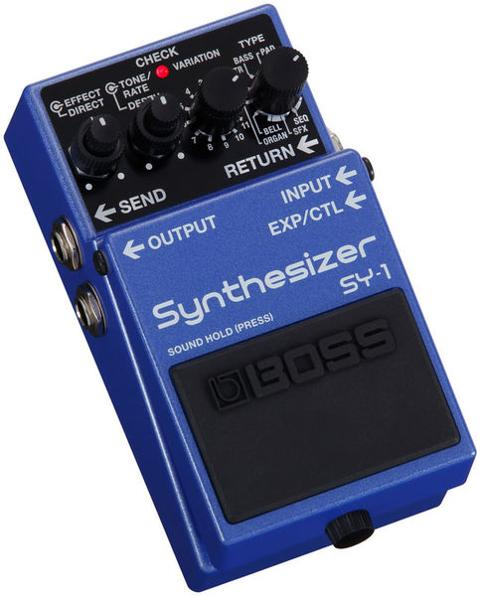 BOSS SY1 GUITAR SYNTHESIZER SPEDIZIONE INCLUSA