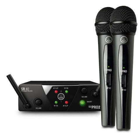AKG WMS40 PRO DUAL MINI VOCAL SET