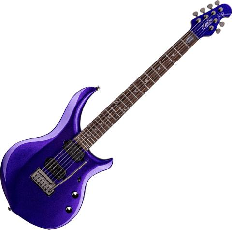 STERLING BY MUSIC MAN PETRUCCI MAJESTY X 6 PURPLE METALLIC