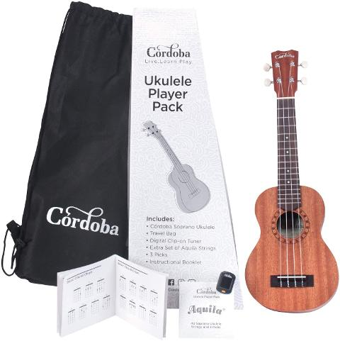 CORDOBA UKULELE PLAYER PACK SOPRANO