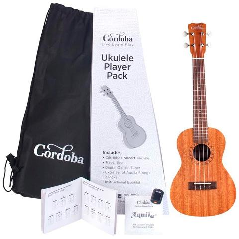 CORDOBA UKULELE PLAYER PACK CONCERTO