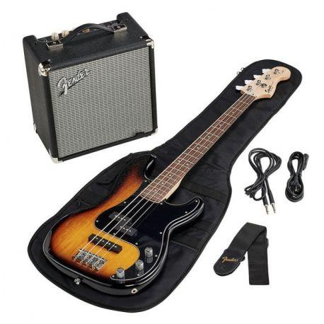 SQUIER PRECISION BASS RUMBLE PACK SUNBURST