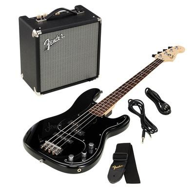 SQUIER PRECISION BASS RUMBLE PACK BLACK