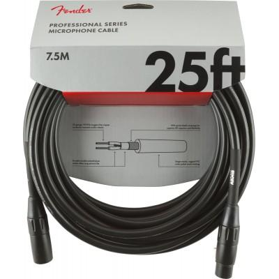 FENDER PROFESSIONAL MICROPHONE CABLE 7.5m