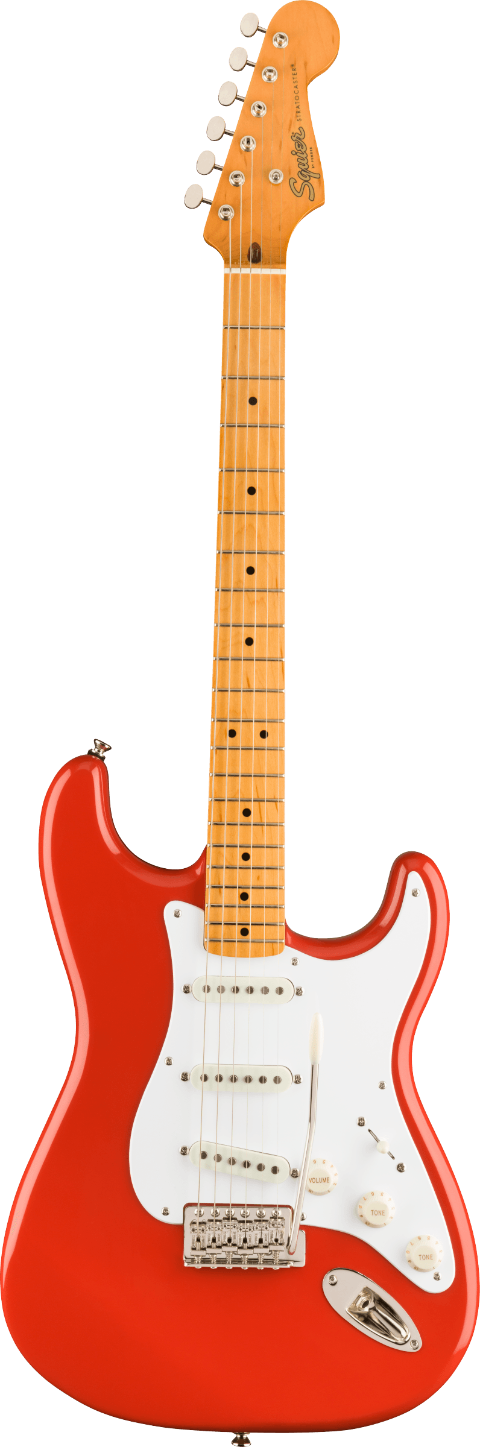SQUIER CLASSIC VIBE 50S STRATOCASTER MN FIESTA RED