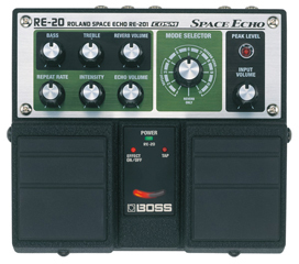 BOSS RE20 SPACE ECHO DELAY