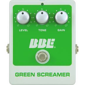 BBE GREEN SCREAMER OVERDRIVE BBE GREEN SCREAMER