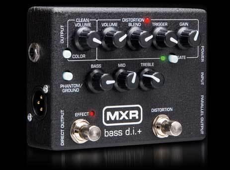DUNLOP MXR M80 D.I. DISTORTION+ PER BASSO