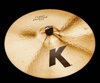 "ZILDJIAN K CUSTOM DARK 15"" CRASH"