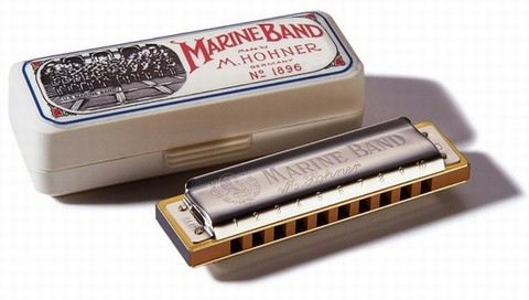 HOHNER MARINE BAND IN RE