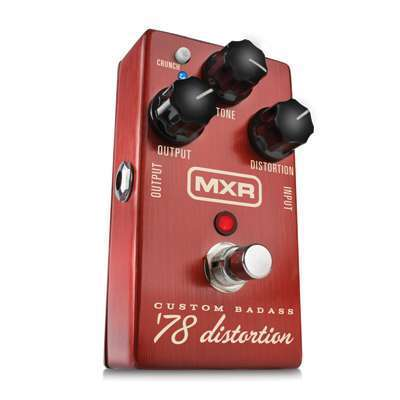DUNLOP MXR M78 CUSTOM BADASS '78 DISTORTION